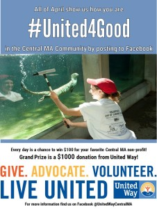 #United4Good Photo Contest @ United Way of Central Massachusetts