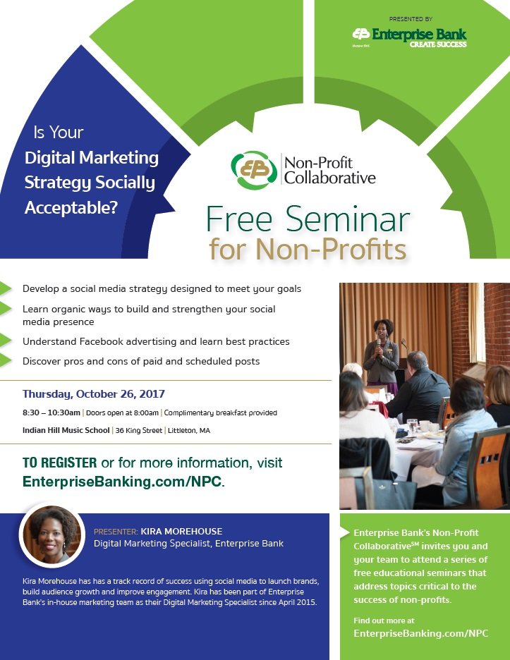 Digital Marketing Flyer - Massachusetts Nonprofit Network