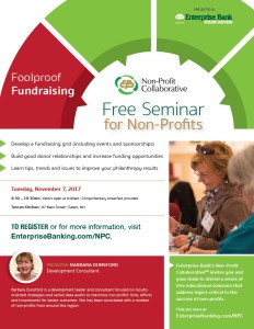 Foolproof Fundraising @ Tuscan Kitchen