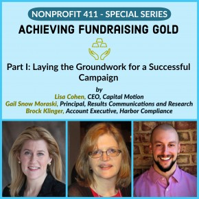 Nonprofit 411 giving series 1
