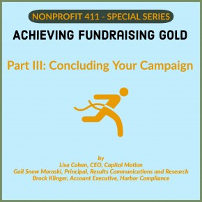 Nonprofit 411 giving series 3