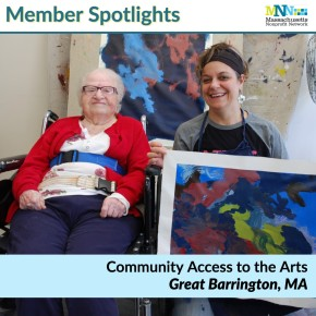 Member Spotlight Community Access to the Arts-min