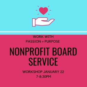 Serving on Nonprofit Boards @ Newton North High School