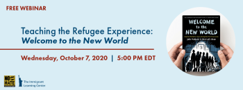 Teaching the Refugee Experience: Welcome to the New World @ Online