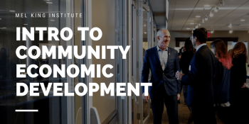 Intro to Community Economic Development @ Zoom